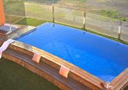 Large beautiful holiday home with heated pool close to Tarajalejo