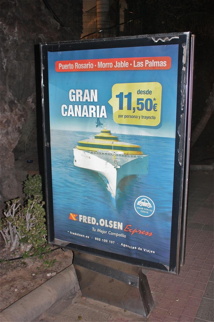 Briefe Nach Gran Canaria : Kanarische inseln im doppelpack mit der schnellfähre